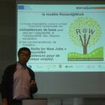 Haffid Abdel-Kader presenting R@W project