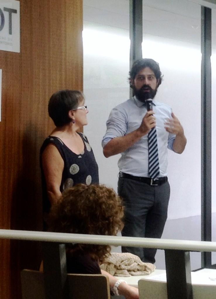 Lysiane Lelue - UBP, Roberto Baldo - Forema